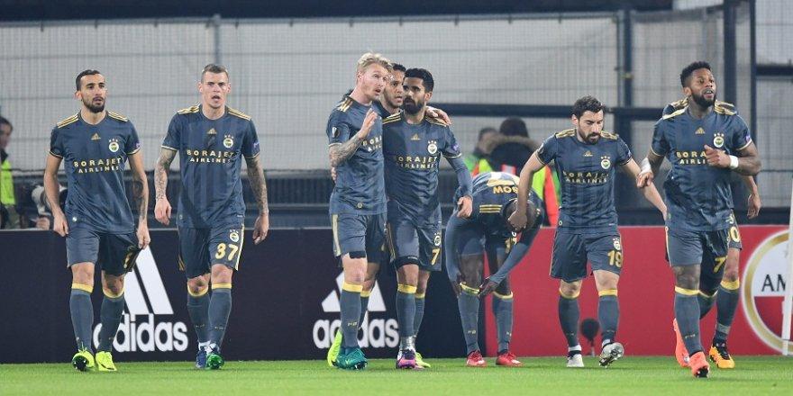 Fenerbahçe Avrupa'da üst tura yükseldi