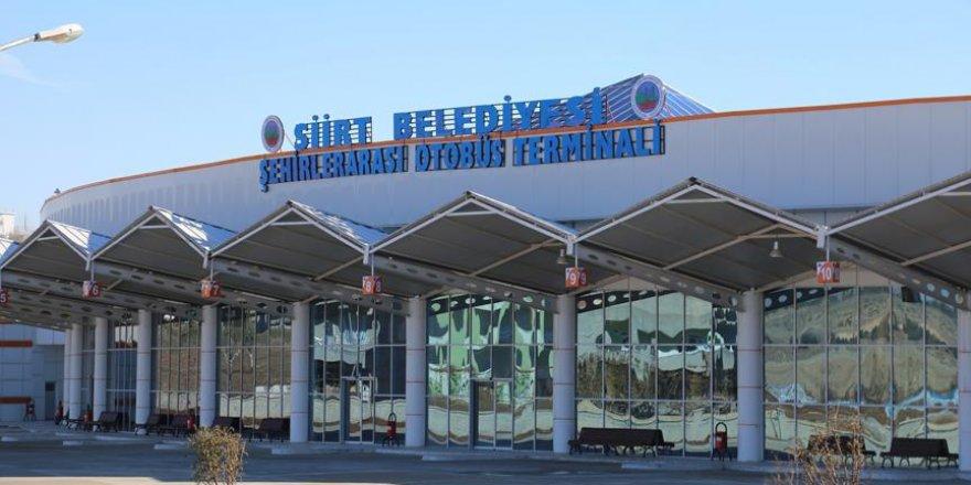 Siirt'te otobüs terminali çalışmaları hızlandı