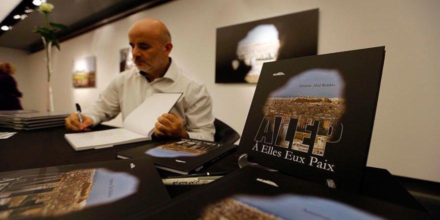 Suriyeli foto muhabirinden 'Halep' kitabı