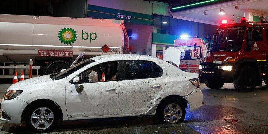 İstanbul'da otomobile el yapımı patlayıcı ile saldırı