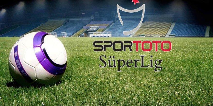 Spor Toto Süper Lig'de haftanın programı