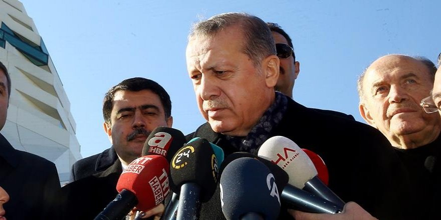 Erdoğan önce teşekkür etti, sonra uyardı