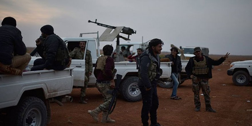 Rus medyası: Türk askeri ve ÖSO El Bab'a girdi!