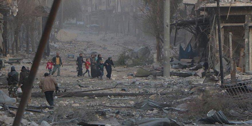 Halep'te 24 günde 960 kişi hayatını kaybetti