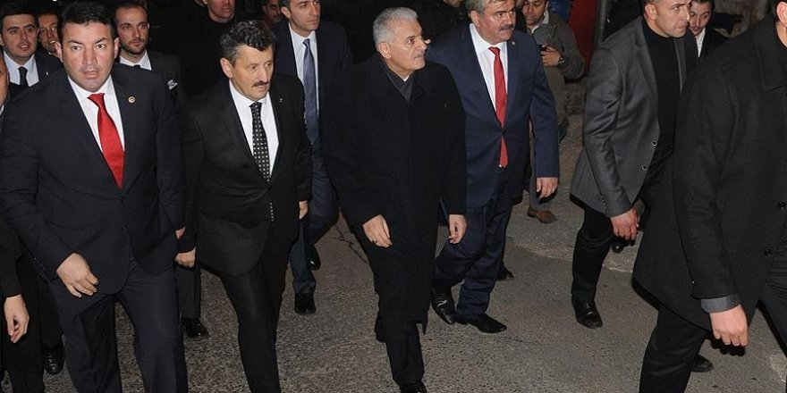 Yıldırım'dan AK Parti ve MHP il başkanlıklarına ziyaret