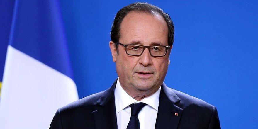 Hollande'dan DEAŞ açıklaması