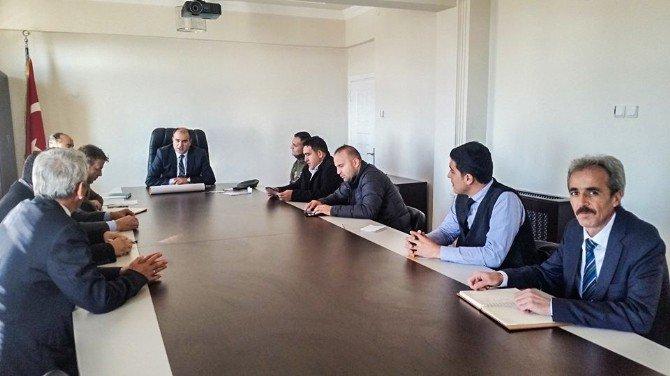 Yunak'ta madde bağımlılığı mücadelesi komisyonu kuruldu