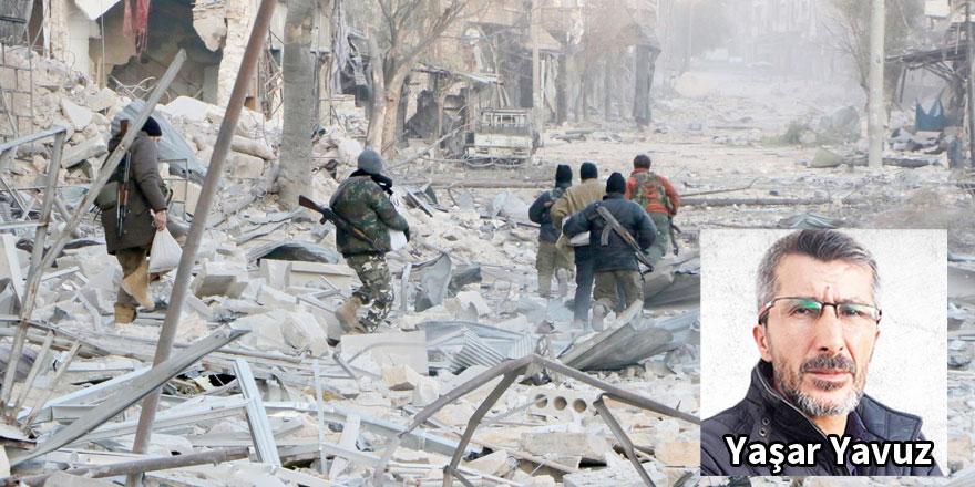 Halep'te insanlık öldü