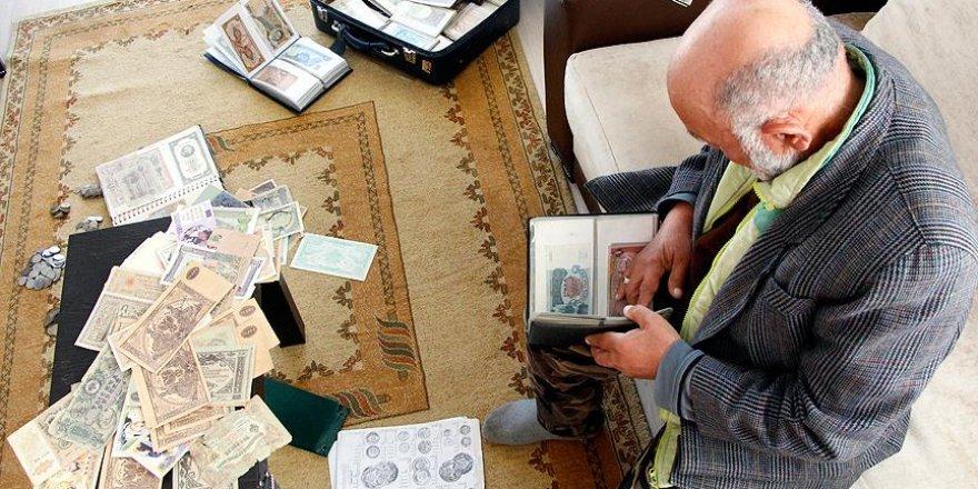 Ömrünü koleksiyon parası toplamakla geçirdi