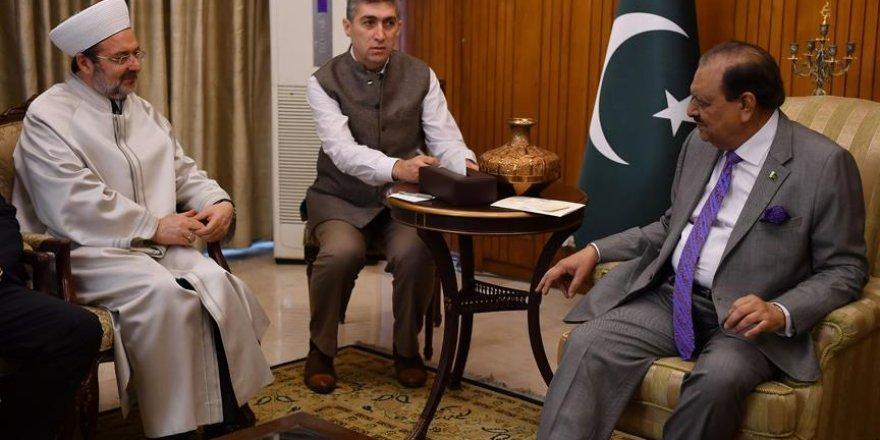 Görmez: Türk halkının kalbinde Pakistan'ın çok özel bir yeri vardır