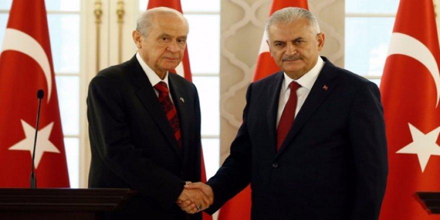 AK Parti çalışmayı tamamladı teklifi MHP'ye sundu