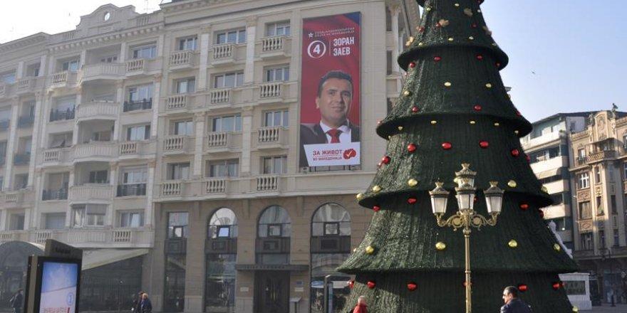 Makedonya'da halk yarın sandık başına gidecek