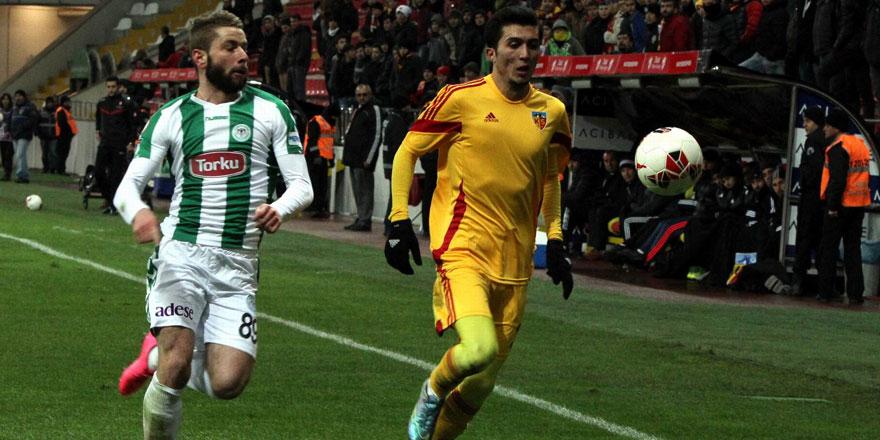 Konyaspor'la Kayserispor'un dikkat çeken istatistiği