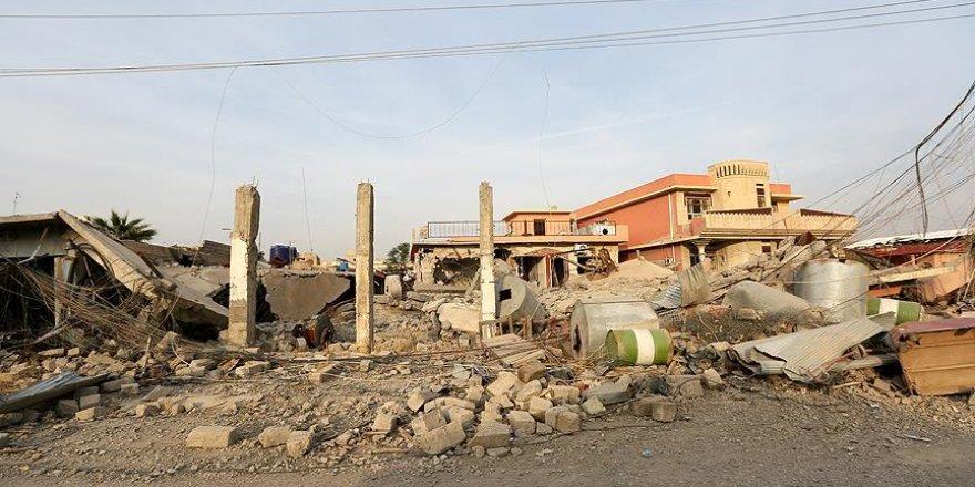 DEAŞ'ın bombaladığı evin enkazından 22 ceset çıkarıldı