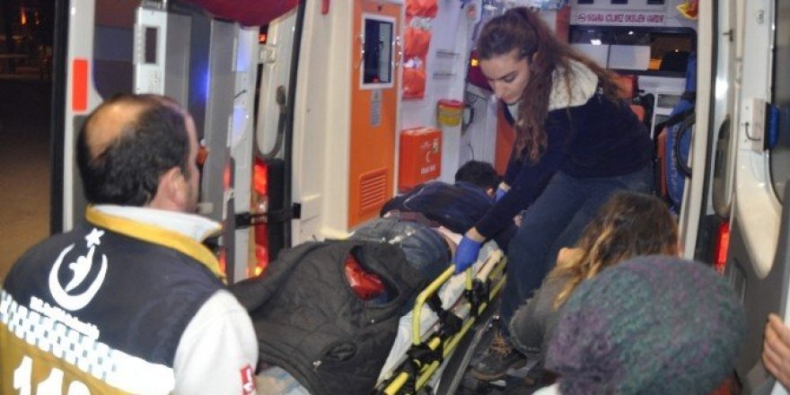 Kuaför dükkanına pompalı saldırı: 2 yaralı