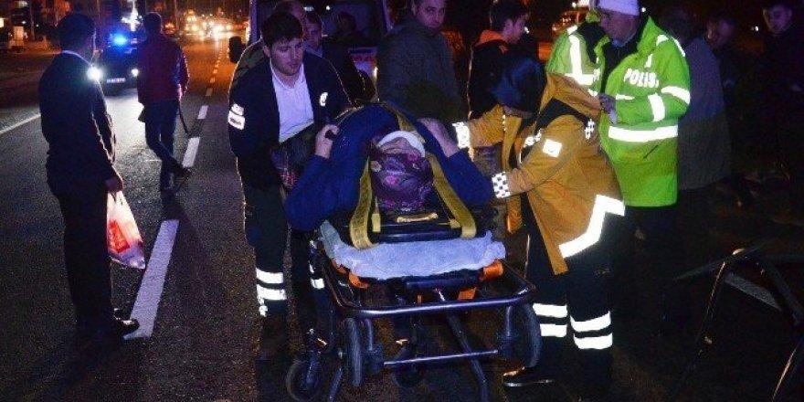 Fatsa'da trafik kazaları: 4 yaralı
