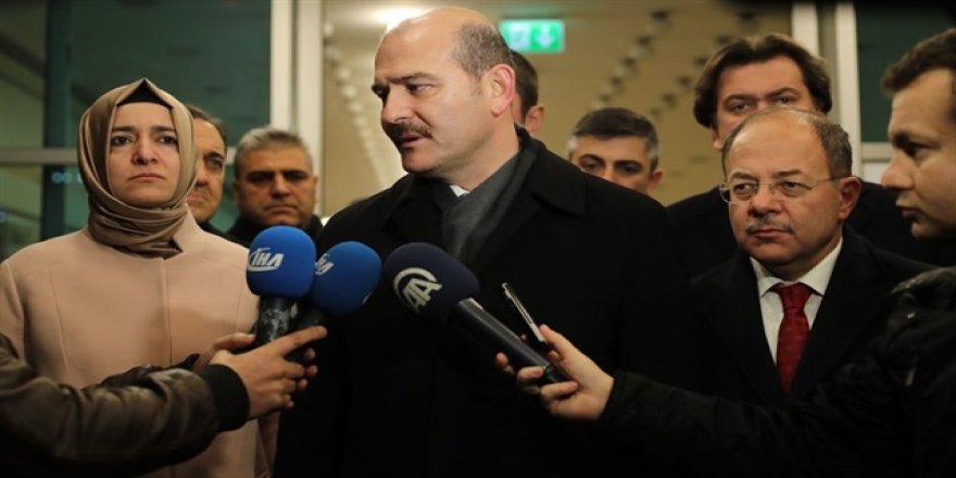 İçişleri Bakanı Soylu'dan patlama açıklaması!
