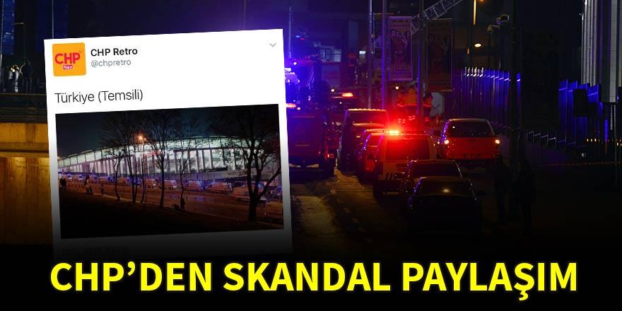İstanbul'daki saldırı sonrası skandal paylaşım