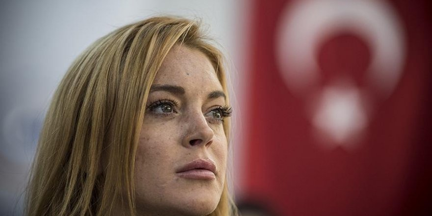 Lindsay Lohan'dan teröre lanet mesajı