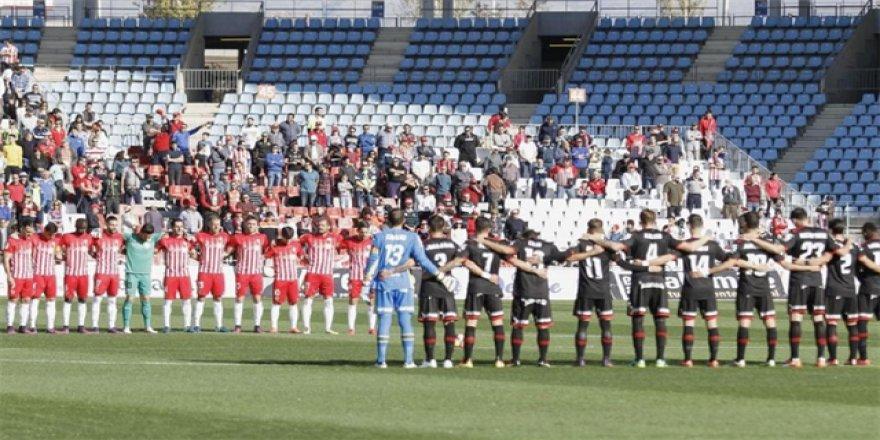 La Liga'da İstanbul için saygı duruşu