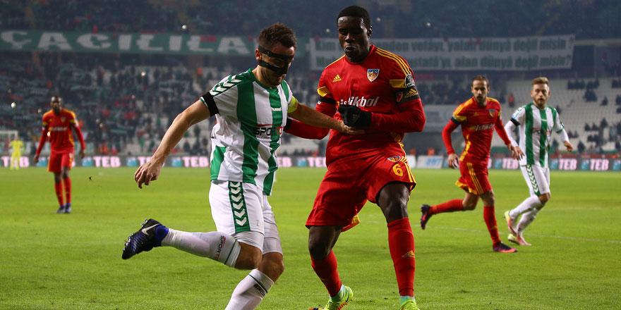 Konyaspor kaptanı Ali Çamdalı gol hasretini dindirdi