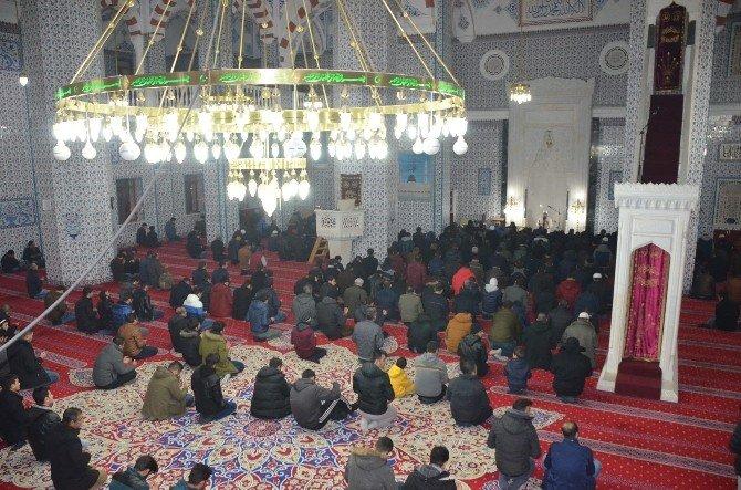 Iğdır'da İstanbul şehitleri için dua edildi