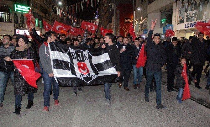 Elazığ'da teröre lanet yürüyüşü