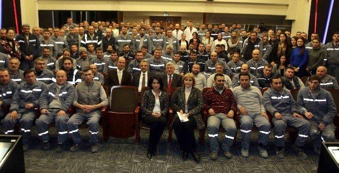 Başkan Karaosmanoğlu fabrika ziyaretlerini sürdürüyor
