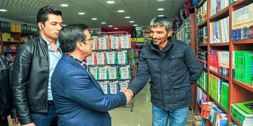 Diyarbakır'da Belediye Başkan Vekili Atilla esnafı dinledi