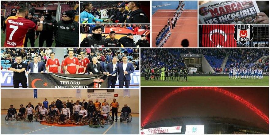 Spor dünyası teröre karşı birleşti