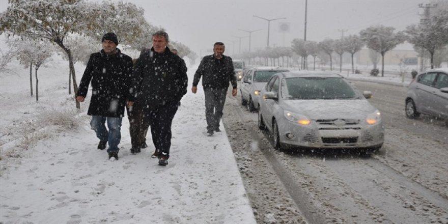 Meteorolojiden 12 ile yoğun kar uyarısı