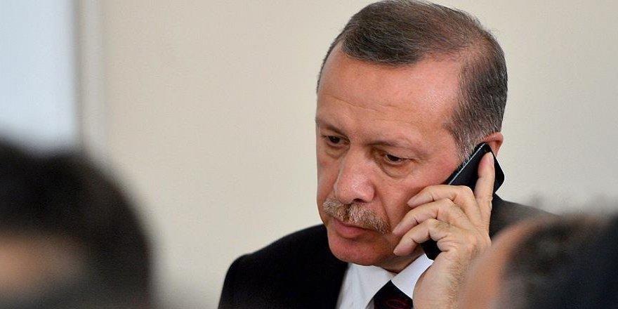 İngiltere'den, Cumhurbaşkanı Erdoğan'a taziye telefonu