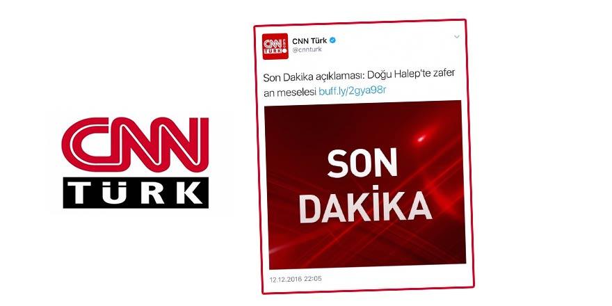 CNN Türk Esed'in katliamına zafer diyor