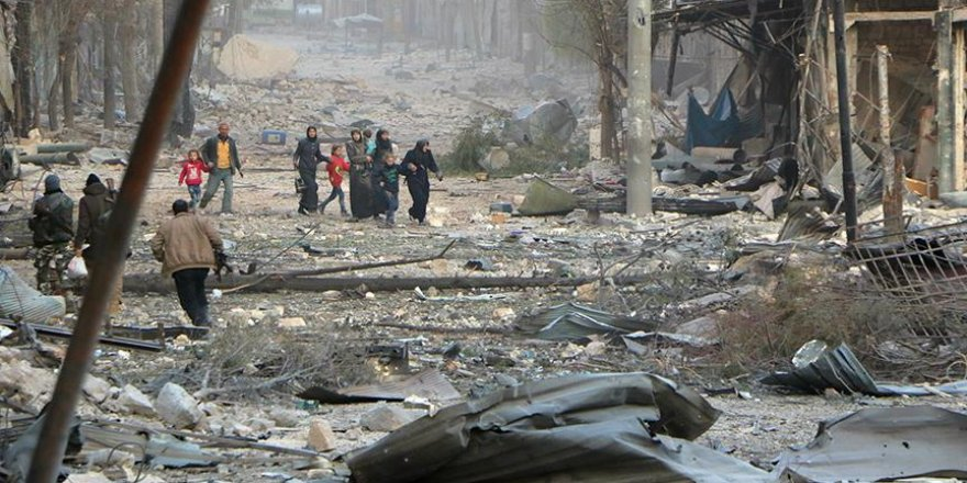 İnsan Hakları İzleme Örgütünden Halep için acil çağrı