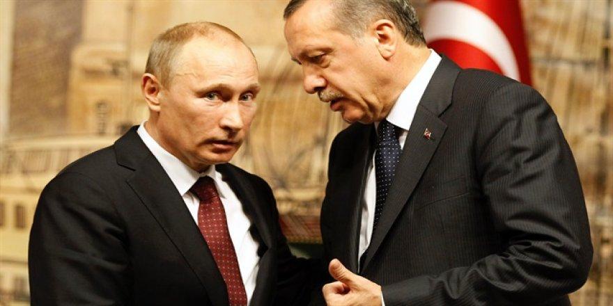 Erdoğan Putin ile Halep'i görüştü