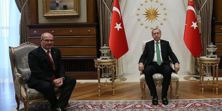 Erdoğan, ATO Başkanı Baran'ı kabul etti