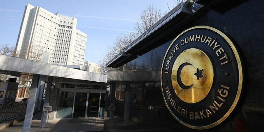 Türkiye'den Sasunya'nın şartlı tahliye kararına tepki