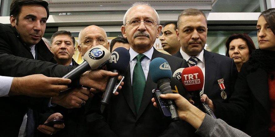 Kılıçdaroğlu: Terörün önlenmesi konusunda düşüncelerimizi ifade edeceğiz