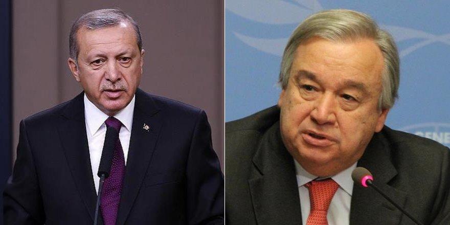 Erdoğan'dan BM'ye Halep çağrısı