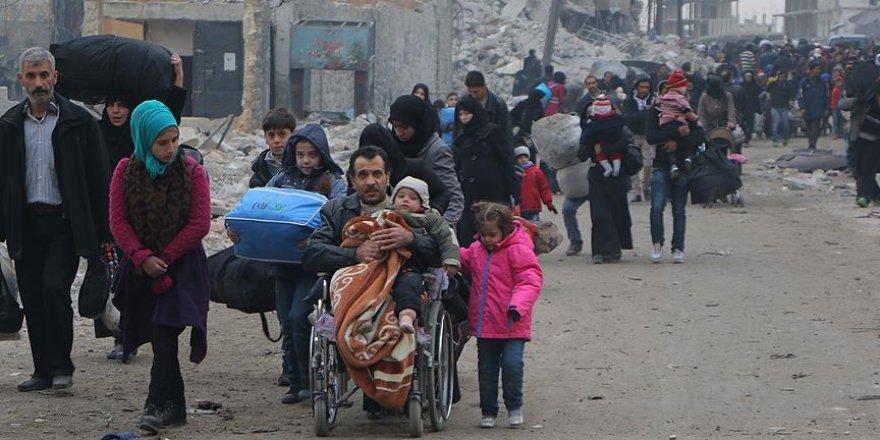 İHH, Halep'ten çıkacak aileler için gıda kolisi hazırlıyor