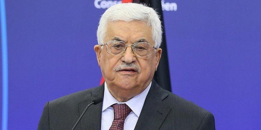 Filistin Devlet Başkanı Abbas, İsrail heyetini kabul etti