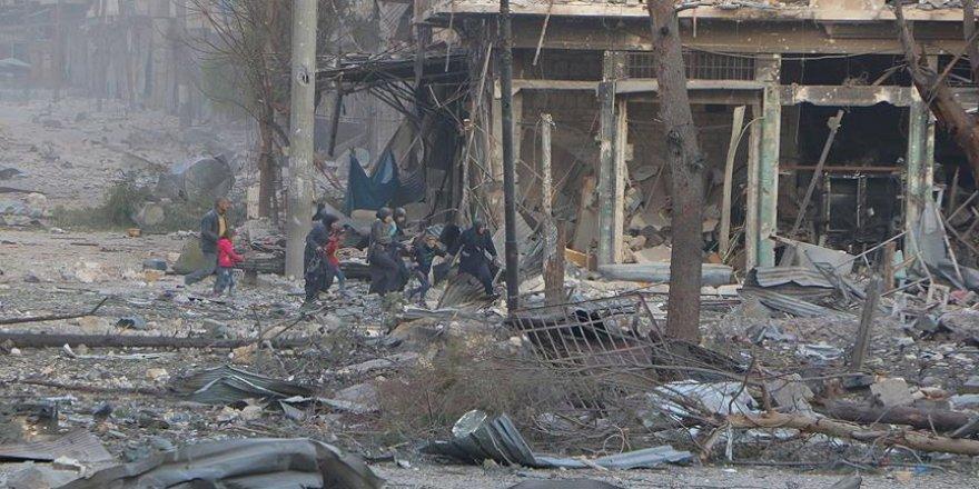 'Halep'te dünyanın şahitliği önünde katliam yaşanıyor'