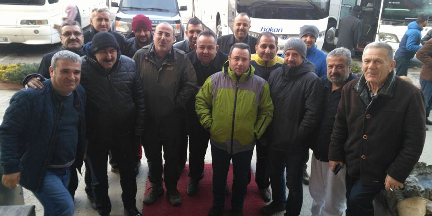 Konyalı gazeteciler Akseki'de mahsur kaldı