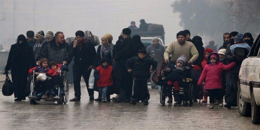 Halep'ten tahliye engelleniyor
