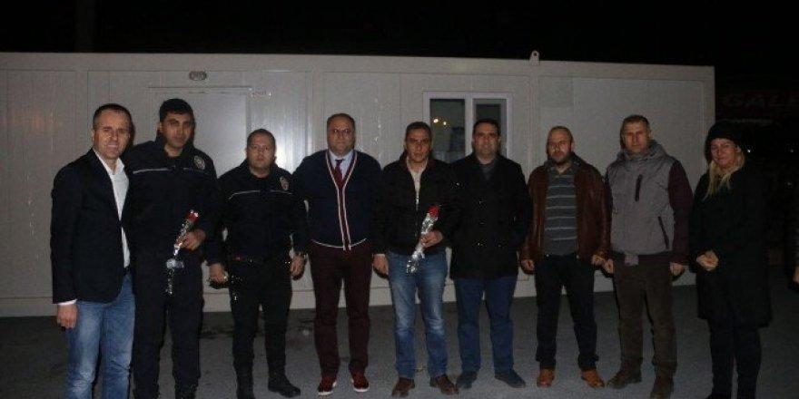 Aydın Büyükşehir Belediyesi'nden polislere ziyaret
