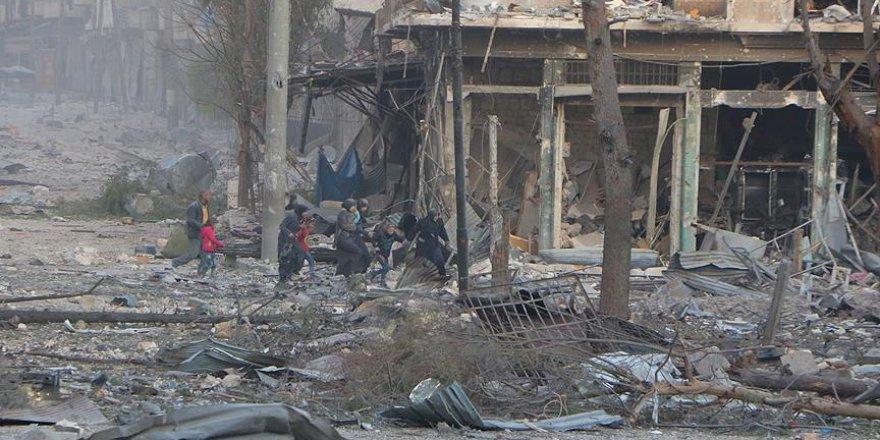 Halep'in doğusunda rejim güçlerinin ateşkes ihlali sürüyor