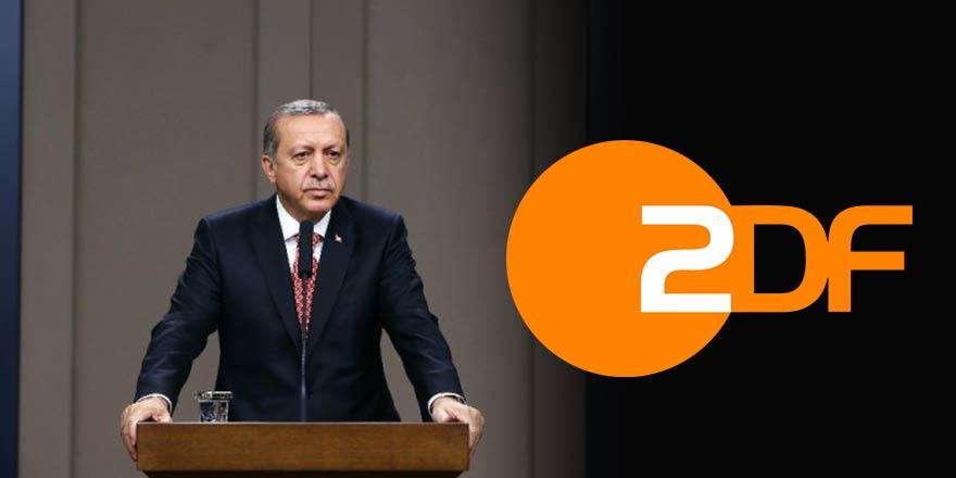 Alman televizyonu ZDF'den 2. Erdoğan skandalı