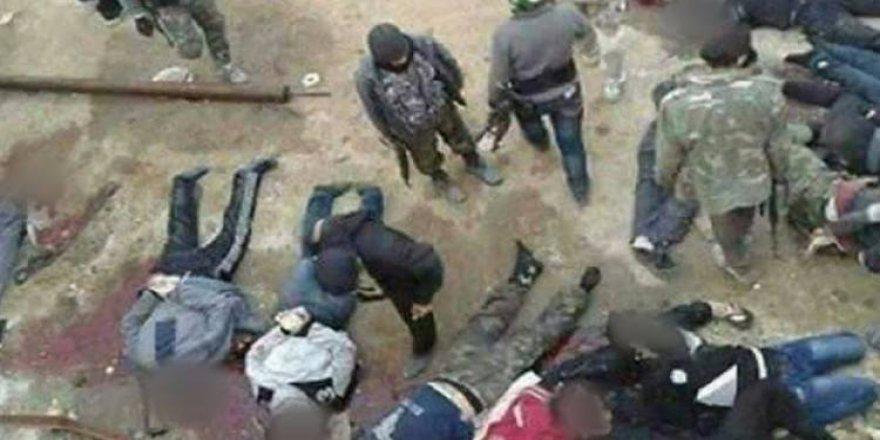 Halep'te kan donduran katliam görüntüsü