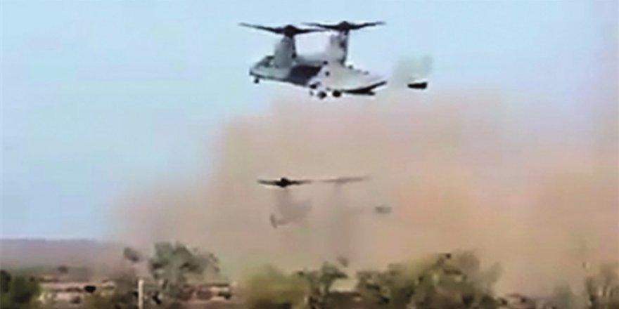 ABD'nin PKK'ya yaptığı yardım saniye saniye görüntülendi