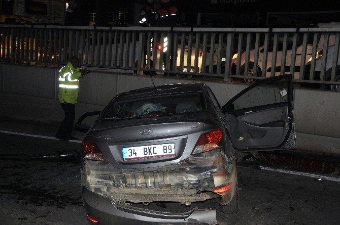 Antalya'da trafik kazası: 1 ağır yaralı
